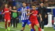 Après sa défaite à Sclessin, Séville freine à Alaves et laisse la 1ère place au Barça