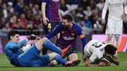 Le Barça lance les hostilités du Clasico avec un best of des buts de Messi face à... Courtois