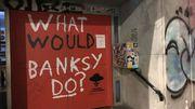 Strokar sort du jeu en faisant placer les oeuvres sous séquestres de l'exposition Banksy