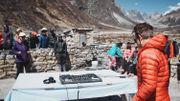 """""""La plus haute fête de la Terre"""" sur l'Everest"""