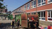 Nettoyage de l'école communale de Welkenraedt