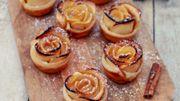 Recette: Rose feuilletée à la pomme et cannelle