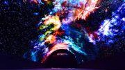 A L'IFA a été présenté le plus long tunnel de pixels OLED à ce jour : une section de 5 m sur 7,4 m pour une longueur de 15 mètres. Pour un total d'un demi-milliard de pixels.