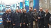 Le lancement des travaux sur la ligne 124 a été inauguré en grande pompe en février dernier.