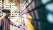 Street art en Fédération Wallonie-Bruxelles: levez les yeux, il est partout!
