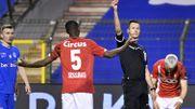 Standard : Quatre matches de suspension pour Sissako après son exclusion contre Genk en coupe