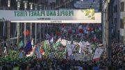 Environ 9000 manifestants dans les rues de Bruxelles