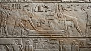 Le Louvre restaure une chapelle funéraire de l'Egypte ancienne