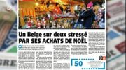 Un Belge sur deux stressé par ses achats de Noël