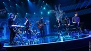 Matthew et son groupe Puggy chantent 'Lonely Town' avec les Talents