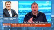 """Thierry Luthers : """" Johnny Hallyday était une légende, voire même un mythe """""""