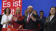 """Après leur résultat difficile et amer"""", les sociaux-démocrates refusent de gouverner avec Merkel"""