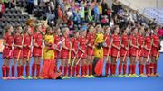 Hockey World League : Belgique - Espagne