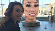 L'art du selfie : une sculpture diffuse votre visage en 3D