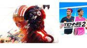 Star Wars™Squadrons & Tennis World Tour 2: dans l'espace ou sur le court, c'est à vous de jouer