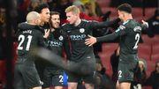 Avec Kompany et De Bruyne, Manchester City mate encore Arsenal