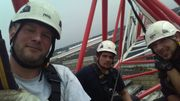 Avant son accident, Olivier Delire était électromécanicien pour grue à tour.