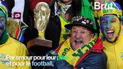 Coupe du monde : ils vont jusqu'à Moscou pour rendre hommage à leur père, fervent supporter du Brésil