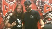 Cyril et Rob Caggiano de Volbeat