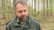 Willy Van de Velde est garde forestier pour Bruxelles environnement
