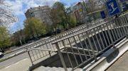 Le tunnel piétons square Vergote sera également supprimé.