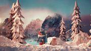 Sia en pâte à modeler dans le clip en animation de sa chanson de Noël