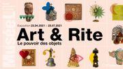 """Vos entrées à l'expo """"Art & Rite"""" à Louvain-La-Neuve"""