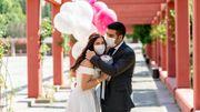 Le masque de mariée pourrait devenir aussi incontournable que la robe