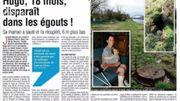 Hugo,18 mois, disparait dans les égouts... une aventure incroyable! On en parle dans la Revue de Presse