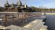 Trois entreprises belges derrière la plus grande patinoire d'Europe à Pairi Daiza
