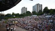 La Henman Hill, à Wimbledon