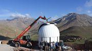 Installation du télescope TRAPPIST-Nord à l'observatoire de l'Oukaimeden
