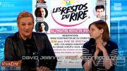 Le relookeur David Jeanmotte et Florence Mendez pour les Restos du Rire