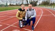 Le préparateur physique d'Elise Vanderelst n'est autre que son… amoureux Thaddée Adam, un Tournaisien lui-même athlète de très bon niveau.