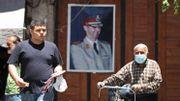 Dans les rues de Damas, le portrait du président Al Assad. C'est contre le pouvoir syrien qu'est dirigé le nouvel arsenal de sanctions, imaginé par les Etats-Unis.