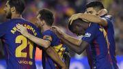 Messi éclaire le derby de Barcelone, Dembélé passeur pour sa première