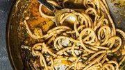 Recette de Candice : Bucatini aux sardines, pignons de pin et fenouil
