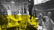 A la Cité Miroir à Liège, l'atelier de Giacometti comme si vous y étiez