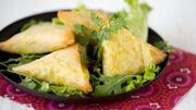 Recette : samoussas au riz et au tofu épicés