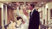 "Un mariage de rêve pour Kaley Cuoco, star de ""Big Bang Theory"" !"