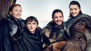 Game of Thrones: les Stark survivants réunis pour une belle séance photo