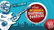 Une fréquentation record annoncée pour le Brussels Summer Festival