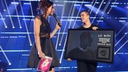 Loïc Nottet de retour aux DMA: trophée, disque d'or et émotions!