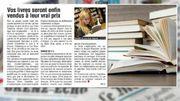 Un prix unique pour les livres en Belgique