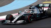 Hamilton devance Bottas durant les 1ers essais libres du GP de France