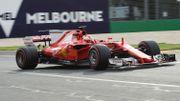 """Vettel : """"Notre Ferrari n'est pas à son meilleur niveau"""""""
