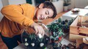 La confection d'un terrarium, véritable mini-jardin dans un pot en verre, est également une activité très simple qui va enchanter les enfants
