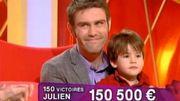 Julien devient le nouveau grand champion en nombre de victoires!