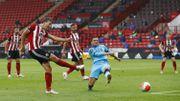 Sander Berge fête son 1er but en PL et la victoire de Sheffield contre Tottenham