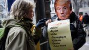 Manifestation anti-Trump en marge du sommet de Davos